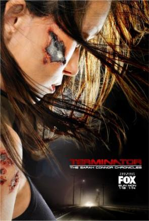Sarah Conner Chronicles Terminator Poster
