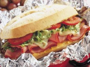 Toasted Ham Sandwich
