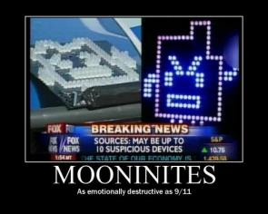 Mooninites – As Emotionally Destructive As 9/11