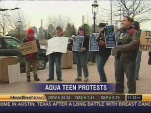 Aqua Teen Protest!