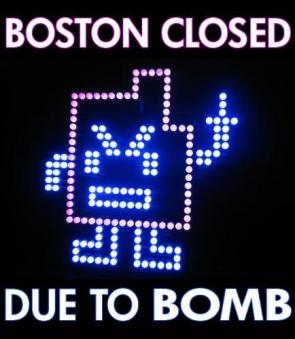 Boston Closed Due To Bomb