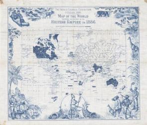 Map of the British Empire