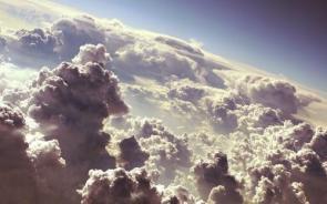 Aerial Cloud Photograph