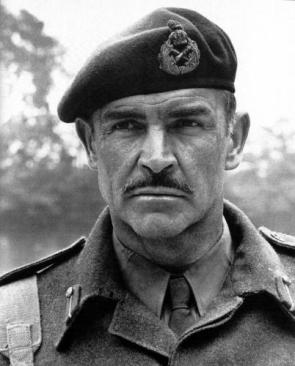 Sean Connery In Uniform