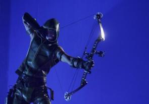 Blue Screen Green Arrow