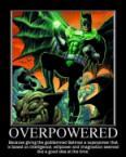 Overpowered Batman