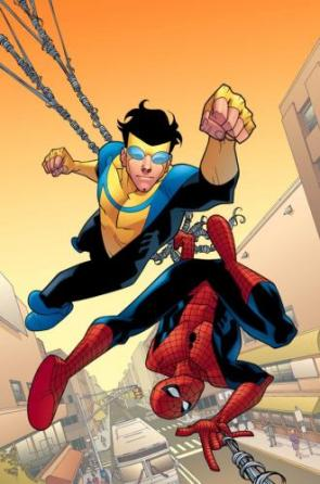 Invinsible And Spider-Man