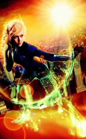Jessica Alba – Invisible Woman Effects