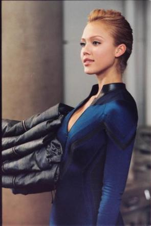 Jessica Alba – Invisible Woman – Blue Eyes