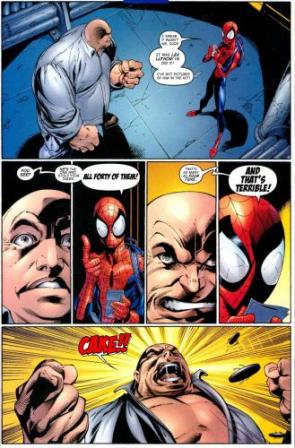 Spider-Man Tells The Kingpin Who Stole His Cakes