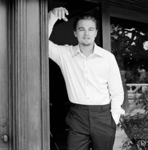Leonardo Caprio In Doorway