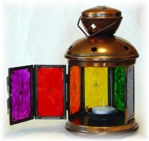 Multi Color Lantern