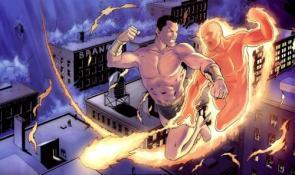 Human Torch Vs Namor