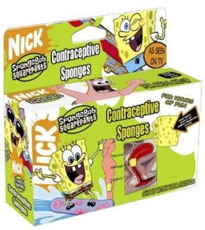 Spongebob Squarepants Contraceptive Sponges