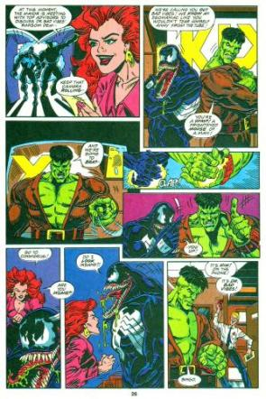 Mid 90's Comic Book Teamup Hilarity