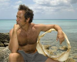 A Shirtless (and hairy) Mike Rowe