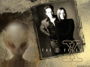 Sexy X-Files Wallpaper