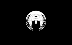 Anonymous Logo – Black and White