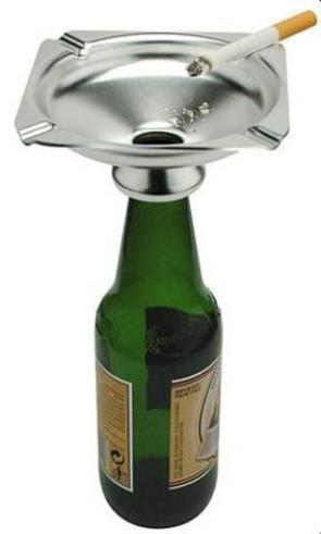 Beer Bottle Ash Tray