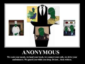 Anonymous – Do not fuck with us