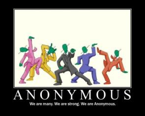 Anonymous – We are many, we are strong