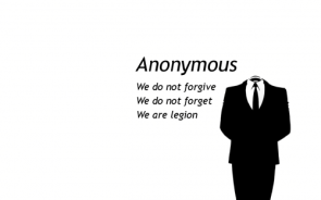 Anonymous – We Do Not Forgive or Forget