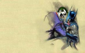 Joker's Knifing Batman