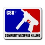 Competitive Spree Killing