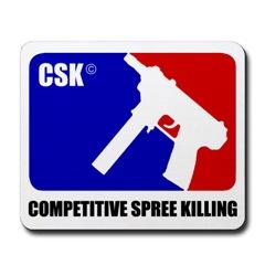 Competitive Spree Killing