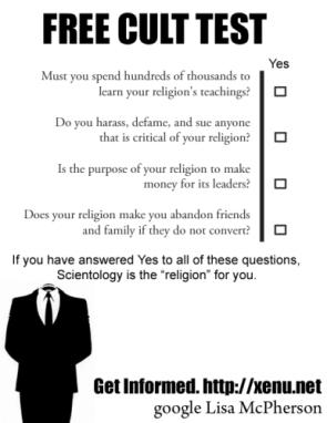 Free Cult Test