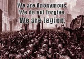 Anonymous – We are legion (wh40k)