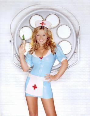Geri haliwell Nurse