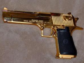 Gold Plated Desert Eagle