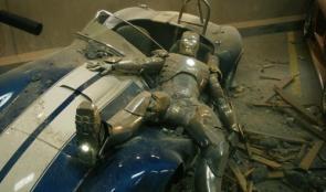 Iron Man's Car Wreck
