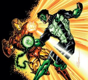 Iron Man Vs Green Lantern