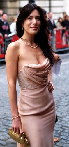 Jaime Murray – Strapless Dress