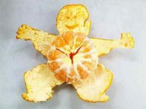 Orange Peel Man