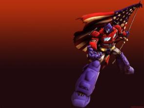 Optimus Prime is a patriot!