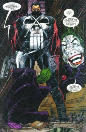The Punisher Vs The Joker