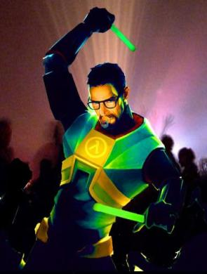 Gordon Freeman – Professional Raver