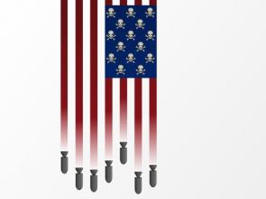 Unites States Flag Of Death