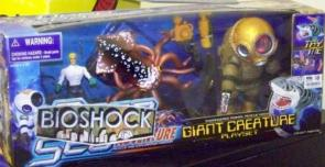 Bioshock Giant Creature Playset