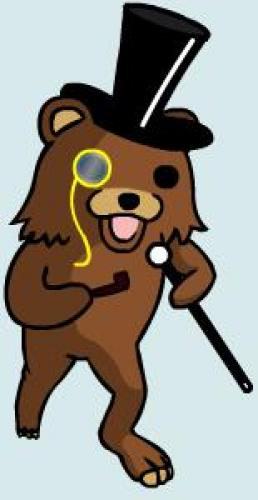Sophisticated Pedobear