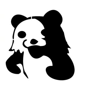 pedobear – silhouette