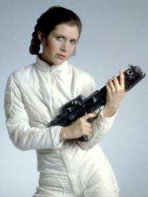 Princess Leia With Blaster