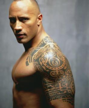 The Rock's Tattoo