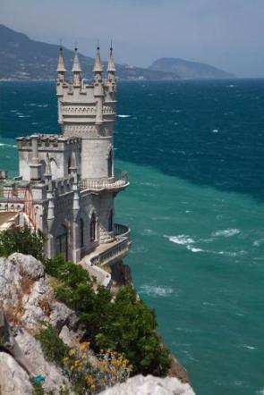 Beachside Cliff Castle