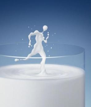 Milk Running Man