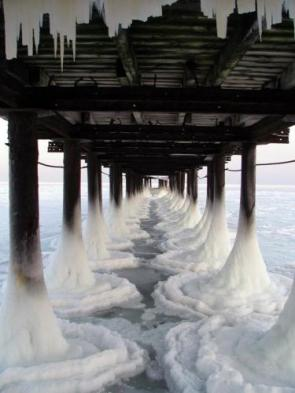 icy pier