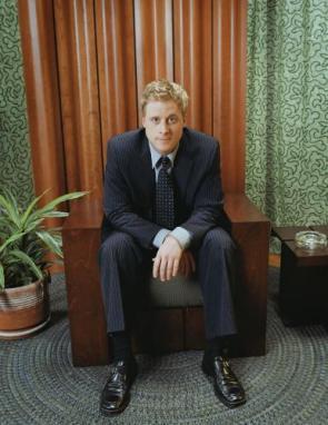 Alan Tudyk – Pinstripe Suit